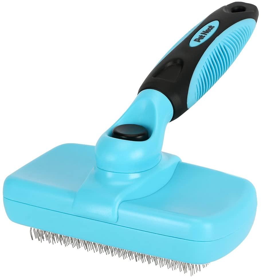 Pet Neat Self-Cleaning Slicker Brush