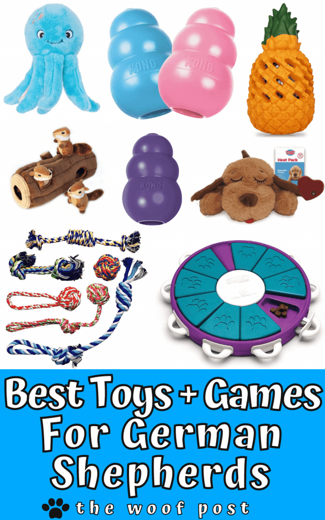 Best Toys for German Shepherds With Game Ideas