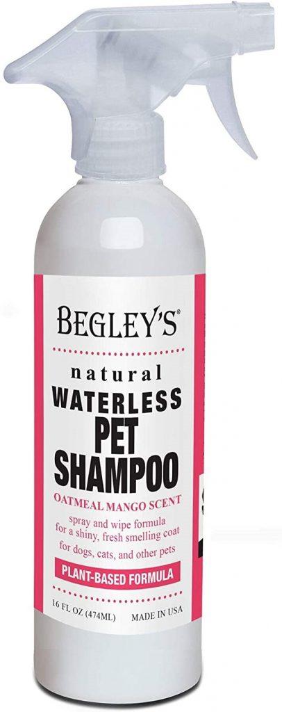 Begley's Natural No Rinse Waterless Pet Shampoo
