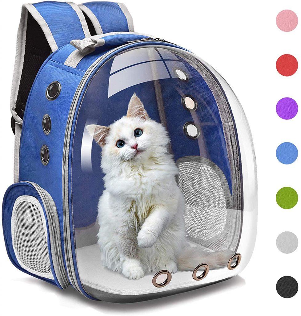 Best Dog Carrier Backpacks: Henkelion Backpack Carrier - Best Transparent/See Through Bubble Backpack