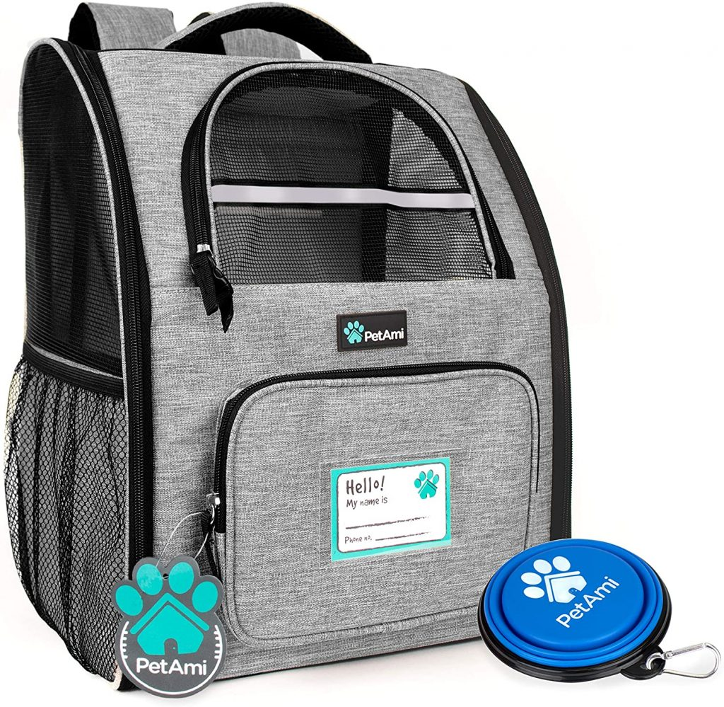 Best Dog Carrier Backpacks: PetAmi Deluxe Pet Carrier - Safest Dog Carrier Backpack